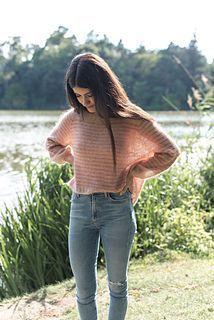 Ravelry: Clara Sweater pattern by EweKnit Toronto Sweater Knitting Patterns, Knitting Ideas, 20s Fashion, Sheer Fabrics, Lace Trim, Pullover Sweaters, Knit Crochet, Feminine, Vest