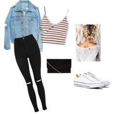 Style #2 by greatdanelover44 on Polyvore featuring Topshop and Converse