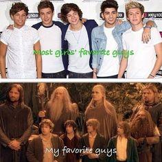 I'll have the dwarves, hobbits, elves, and REAL men, thank you.