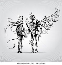 Angel Stock Vektorképek és Vektor Clip Art | Shutterstock