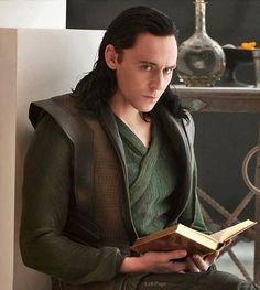 Loki (Tom Hiddleston) from Thor: The Dark World.