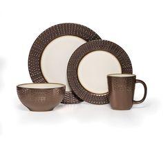 Mikasa Gourmet Basics Metropolitan 16 Piece Dinnerware Set - Dinnerware Sets at Hayneedle