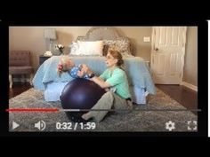 #102 Ball Sit-ups: Exercises for a Baby with Low Tone - YouTube
