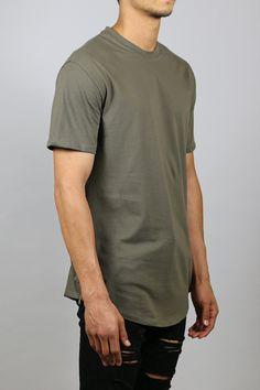 Zipper Long T-Shirts