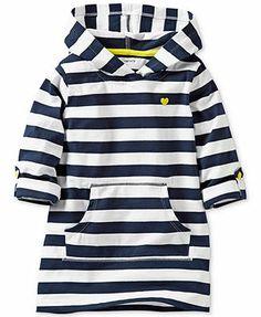Carter's Baby Girls' Striped Long-Sleeve Tunic