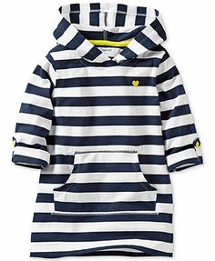 Carter's Baby Girls' Striped Long-Sleeve Tunic
