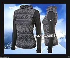 WOMEN'S LARGE  NIKE PRO HYPER-WARM  LONG SLEEVE SHIRT TOP #Nike #BaseLayers Nike Pro Combat, Nike Pros, Large Black, Long Sleeve Shirts, Warm, Fitness, Tops