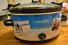 Create-A-Crock.  Say what???  You mean I can make an Angels Baseball themed Crock Pot for myself?  Hmmm...  A very different & unique idea for a wedding gift too!
