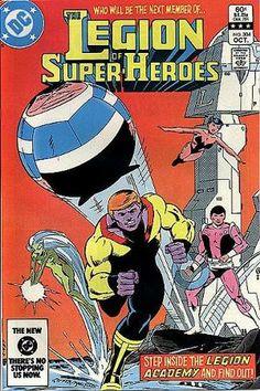 Legion of Super-Heroes #304 (1983), The Legion Academy, Giffen