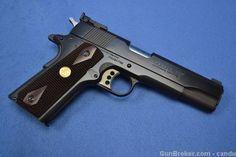 Colt National Match Gold Cup Series 80 Blue 45 ACP : Semi Auto Pistols at GunBroker.com