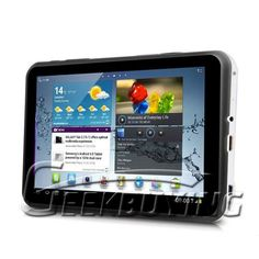 E680 Android 4.0 7 Inch Tablet PC 3G GPS TV HD Screen Dual SIM Card $154.99