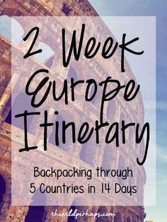 Backpacking through Europe: Rome, Venice, Marseille, Paris, Amsterdam, London, Dublin, & Louisburgh, Ireland! Backpacking + Europe travel