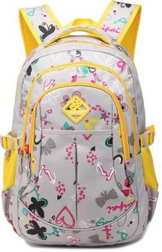 ESHOPS BACKPACKS FOR GIRLS SCHOOL BAGS FOR COLLEGE WATERPROOF OUTDOOR TRAVEL BACKPACK FOR WOMEN (YELLOW)  - Click image twice for more info - See a larger selection of yellow  backpacks at http://kidsbackpackstore.com/product-category/yellow-backpacks/ - kids, juniors, back to school, kids fashion ideas, teens fashion ideas, school supplies, backpack, bag , teenagers girls , gift ideas, yellow
