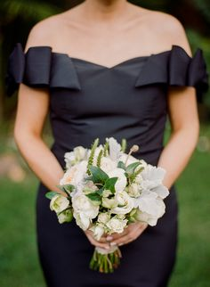 Ranunculus Wedding Bouquet, Prom Bouquet, Wedding Bouquets, Ranunculus Boutonniere, Lily Bouquet, Wedding Dresses, Girls Bridesmaid Dresses, Black Bridesmaids, Prom Flowers