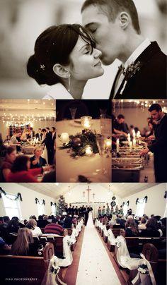 Gracie & Matt's Winter Wedding - Door County, WI. - Ping Photography