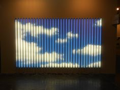 A obra Luz Natural, de Eduardo Coimbra, na Nara Roesler