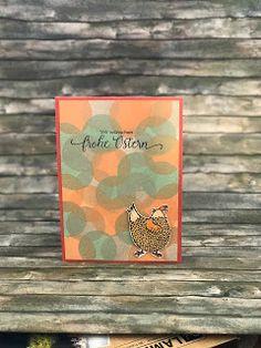 """Gutscheine auch im neuen Jahr  Meine lieben Bastlerinnen von Welt - es geht weiter mit den Panelkarten!Warum ich davon soviele mache? Ganz einfach - Volker vonSONARA WELLNESSwill sie als Gutscheine verkaufen da habe ich mich doch gerne an die Arbeit gemacht.  Hier die vierte Gutscheinkarte - das Papier ist übrigens kein gekauftes Designerpapier sondern selbstgemachtes Designerpapier: Einer der Stempel hatte ein rundes """"Innenleben"""" mit dem habe ich einfach diverse Lagen gestempelten fertig…"""