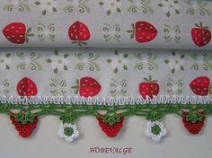Strawberry edging