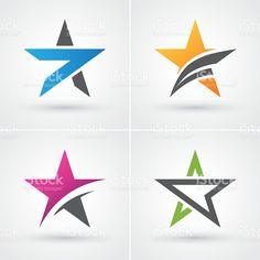 Find Four Colorful Stars Icon Set Logo stock images in HD and millions of other royalty-free stock photos, illustrations and vectors in the Shutterstock collection. Typography Logo, Logo Branding, Branding Design, Boarder Designs, Star Designs, Political Logos, Logo Shapes, Star Logo, Photo Logo