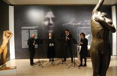 """Un percorso sonoro all'interno della mostra """"Danzare la rivoluzione. Isadora Duncan"""", con il quartetto di clarinetti del Gruppo Strumentale Giovanile Lavis. Mart Museum, 16 febbraio 2020. Isadora Duncan, Concert, Museum, Art, Concerts"""