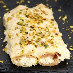 Cannelloni con ricotta, mortadella e pistacchi - Gnocchi rezept Cannelloni Ricotta, Cannelloni Recipes, Pasta Recipes, Gourmet Recipes, Cooking Recipes, Tasty Videos, Food Videos, Healthy Chicken Recipes, Crockpot Recipes