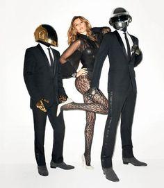 Gisele Bundchen  & Daft Punk