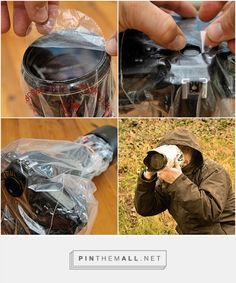 Cheap rain cover for your camera