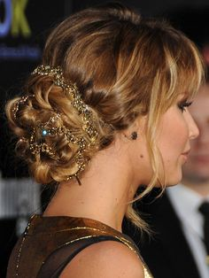 Jennifer Lawrence at the hunger games premiere :D