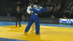 "juji-gatame: ""You got to love the Georgians and their massive hip throws! """