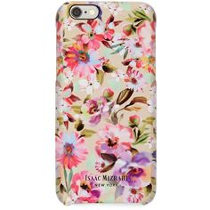 Isaac Mizrahi Photoreal Floral iPhone 6 Case ($35) ❤ liked on Polyvore