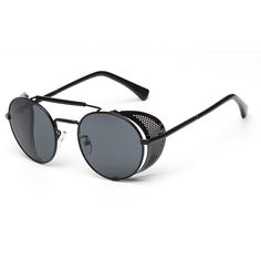Find More Sunglasses Information about Vintage Steampunk Sunglasses Women Men New Fashion Brand Mirror Round Designer Metal Cover Goggles Sun glasses,High Quality sunglasses materials,China glasses sun Suppliers, Cheap sunglasses sun glasses from LLG on Aliexpress.com