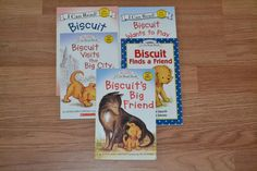 Biscuit Children's Books, Picture books, lot of 5, paperback, School, Learning