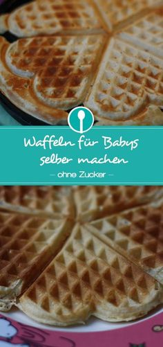 Baby and toddler waffles without sugar- Waffeln für Babys und Kleinkinder ohne Zucker Make sugar-free waffles for babies and toddlers yourself. The waffles are sweetened without refined sugar and only with dates. Pancake Healthy, Best Pancake Recipe, Frozen Drink Recipes, Baby Food Recipes, Food Baby, Sugar Free Waffles, Breastfeeding Cookies, Breastfeeding Tips, Baby Snacks
