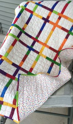 Busy Hands Quilts: Queen Size Flying Geese Quilt | Finished or Not Friday Linky Party!