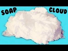 Cloud soap☆雲せっけん☆ふわふわ、お空に浮かぶ雲みたいなせっけんソープの作り方♪海外で大人気のおもしろ実験工作クラフト!!子供が大喜び♪ちゃんとせっけんとして手を洗ったり使えます。