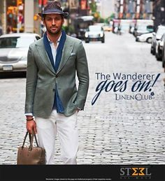 Be a head turner this winter with Linen Club's travel wear collection !  Shop this look TODAY only at Steel All Male :)  #SteelAllMale #LinenClub #TravelWear #HeadTurner #TurnHeads #Ahmedabad #MensWear #ClothingStore #NewShowroom #Satellite #Travel