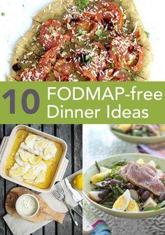 FODMAP Free dinner ideas #fodmaps