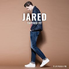 Jared - Tapered Fit  #tiffosi #tiffosidenim #newin #fit #fitguide #denim #denimguide #denimcollection #jeans