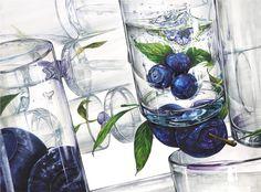 [월간그린섬] 변화하는 2020 학년도 건국대 입시 유형! 그린섬 연구작을 통한 방향 제시! : 네이버 블로그 Geometric Art, Glass Vase, Watercolor, Halloween, Artwork, Create, Painting, Design, Home Decor