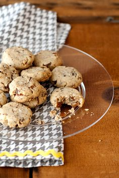 Baking: chocolate chip pecan sandies (everything is better with chocolate!)
