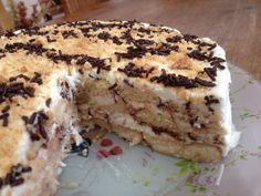 Greek Desserts, Scones, Tiramisu, Ice Cream, Chocolate, Cooking, Ethnic Recipes, Sweet, Food
