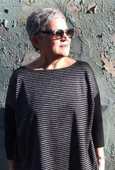 Mandy Boat Tee - Patterns - Tessuti Fabrics - Online Fabric Store - Cotton, Linen, Silk, Bridal & more
