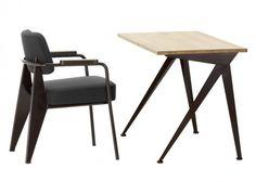 Vitra Showcases Their Latest Range of Jean Prouvé Furniture
