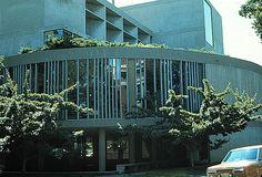 Le Corbusier / Carpenter Center for the visual arts at Harvard University