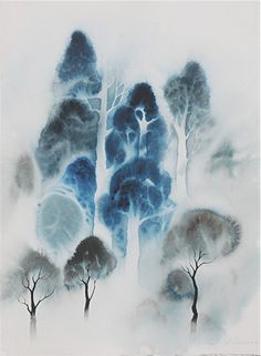 Woodland  by Eyvind Earle