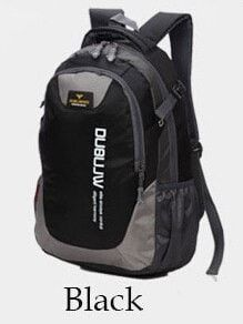 Good Price! Sporty-Style Color-Block Large-Capacity Quality Durable Waterproof Backpack 11 Colors
