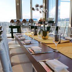 Perched on the 38th floor, our Diamond Head Penthouse Suite is an elevated, elegant reception venue. #WeddingWednesday #TrumpWaikiki #Waikiki #Hawaii #Luxury #Penthouse #Wedding #Reception #Bride #Dinner #Events Trump International Hotel Waikiki Beach Walk - Google+