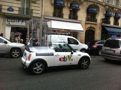 Spotted de bon matin : la Vitrine parisienne rue Princesse !