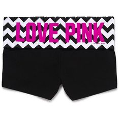Victoria's Secret Bling Yoga Shortie ($25) ❤ liked on Polyvore