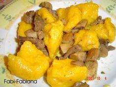 ITALIAN FOOD RECIPE Pia's Pumpkin dumplings by Fabipasticcio  gluten free, cowmilkfree, lactose free